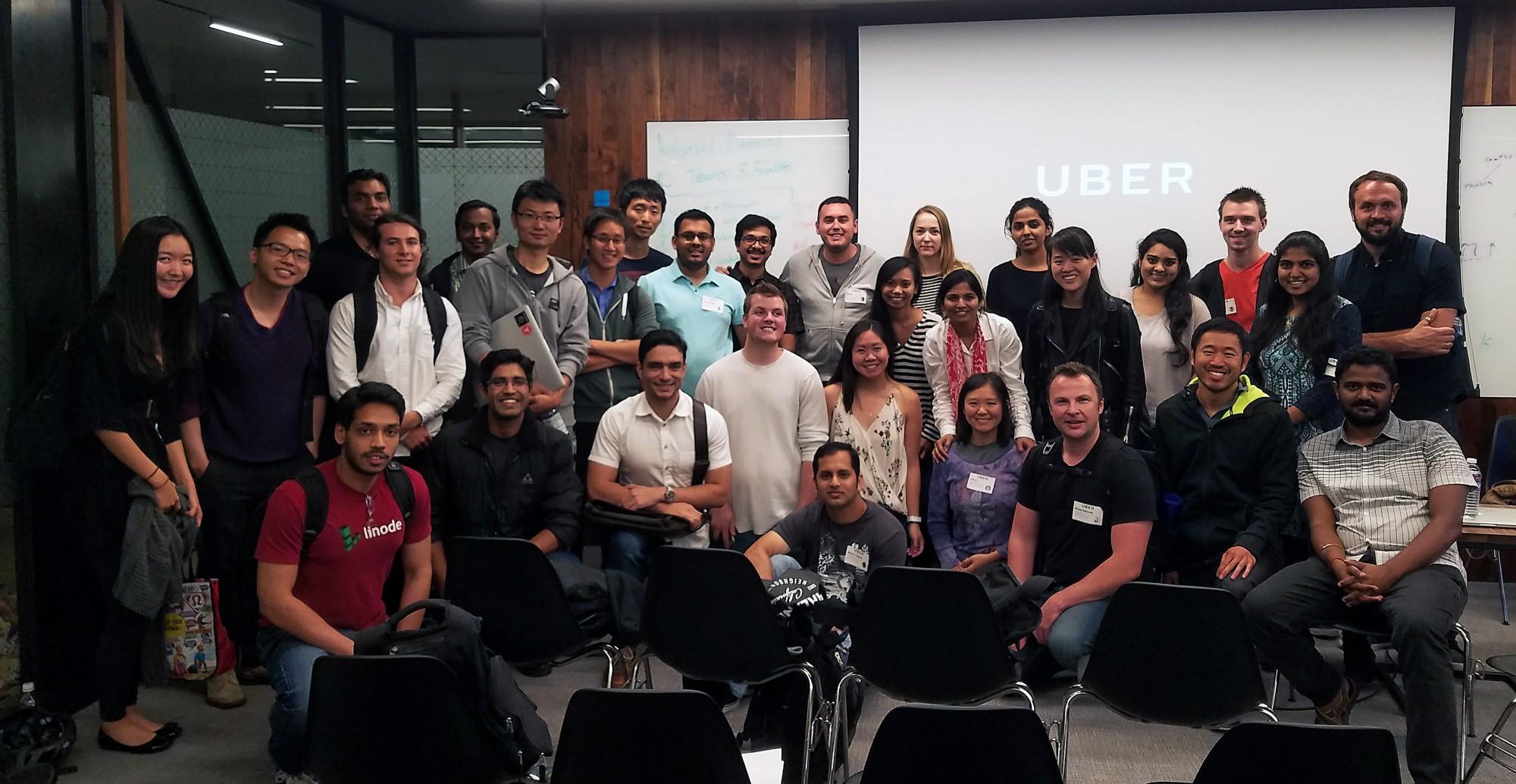 CodePath Android 2016 Alumni at Uber HQ