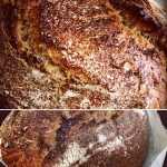 oven spring: splitting bursting lark